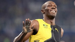 Usain Bolt gewinnt Gold über 100 Meter