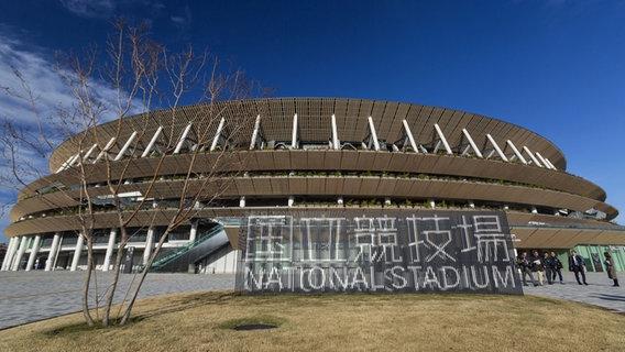 Das neue Olympiastadion in Tokio © picture alliance/ZUMA Press Foto: Das Olympiastadion