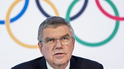Thomas Bach, Präsident des Internationalen Olympischen Komitees (IOC) © picture alliance Foto: Jean-Christophe Bott