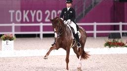 Isabell Werth reitet das Pferd Bella Rose 2.
