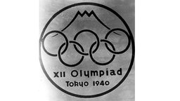 Olympische Sommerspiele in Tokio: Preisgekröntes Emblem der ausgefallenen Spiele 1940 © imago/United Archives International Foto: imago/United Archives International