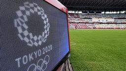 Olympische Spiele in Tokio, Blick auf Stadion