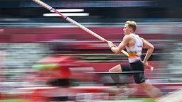 Broeders Ben aus Belgien in Aktion bei den Olympischen Sommerspielen 2020 in Tokio