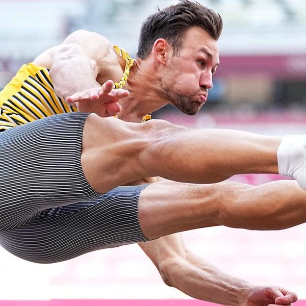 Niklas Kaul in Aktion bei den Olympischen Spiele 2020 in Tokio | dpa