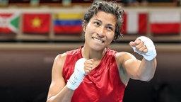 Die indische Boxerin Lovlina Borgohain