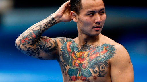 Bei brust frauen tattoo Tattoo