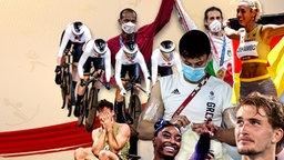 Die Höhepunkte der Olympischen Spiele in Tokio