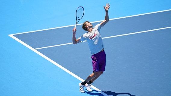 Tennisspieler Alexander Zverev © dpa-Bildfunk Foto: Mike Egerton/PA Wire/dpa