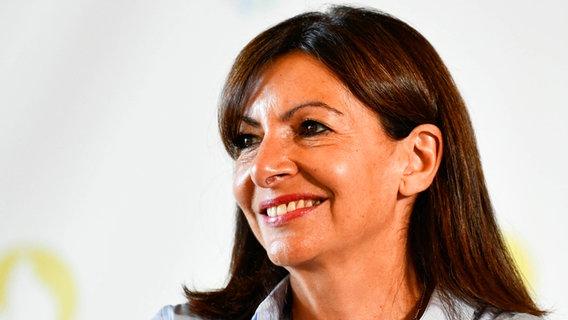 Anne Hidalgo, Bürgermeisterin von Paris © picture alliance / abaca | Joly Victor/ABACA