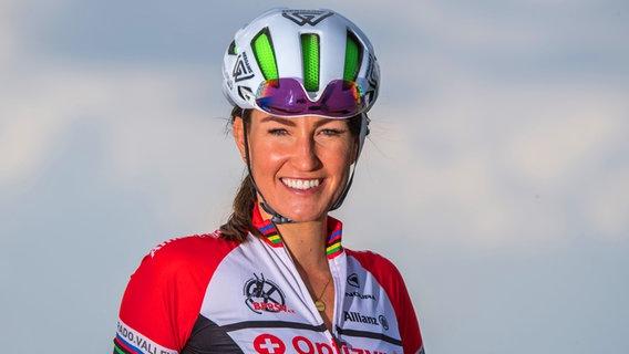 Para-Radsportlerin Denise Schindler © picture alliance / dpa | Peter Kneffel