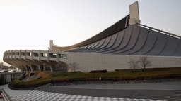 Das Yoyogi National Stadium in Tokio. © picture alliance / AP Images Foto: Jae C. Hong