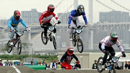 Der Ariake Urban Sports Park in Tokio. © picture alliance / AP Images Foto: Ryohei Moriya