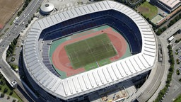 Das International Stadium Yokohama. © picture alliance/MAXPPP