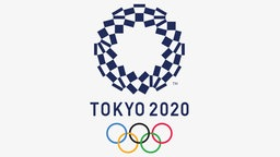 Logo der Olympischen Sommerspiele 2020 in Tokio. © The Tokyo Organising Committee of the Olympic and Paralympic Games
